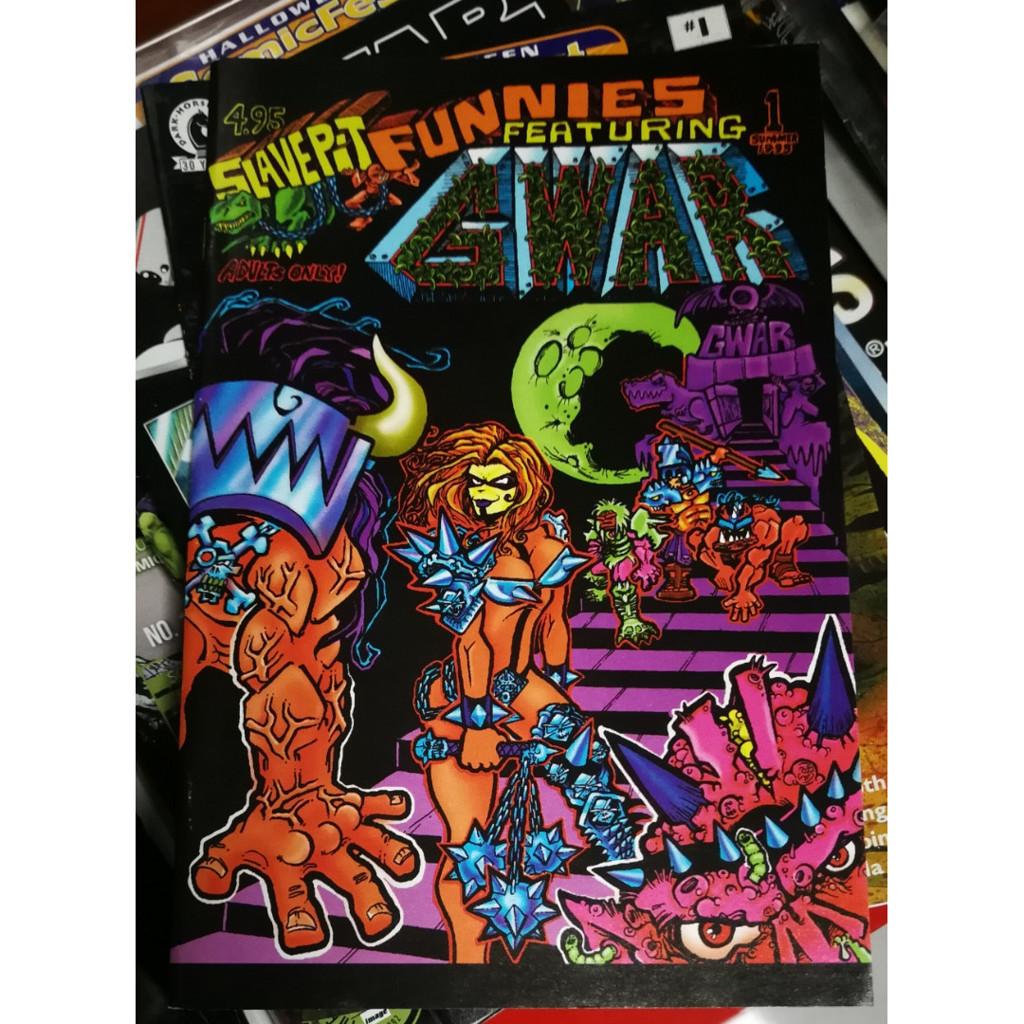 Комикс GWAR Slave Pit Funnies, комиксы о музыкальных группах