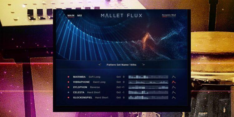 Native Instruments Midnight Sunset Expansion Pack, Библиотека для KONTAKT Native Instruments Mallet Flux