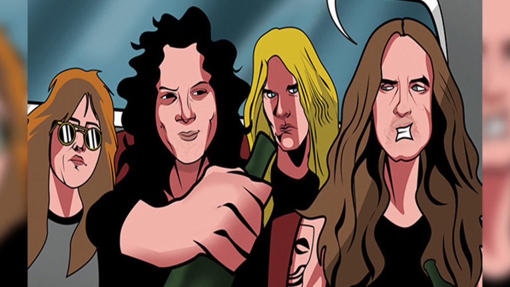 Комикс о Metallica, комиксы о музыкальных группах