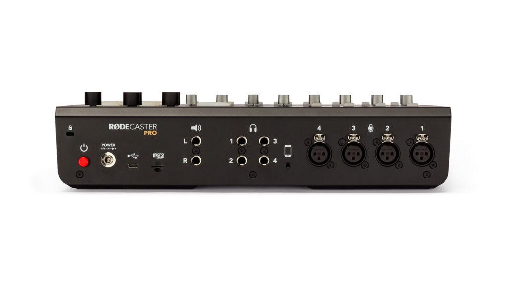 Аудиоинтерфейс RODECaster Pro, микшер RODECaster Pro, портастудия RODECaster Pro
