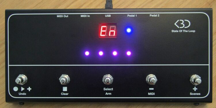 Контроллер State Of The Loop для Ableton Live