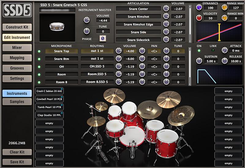 Вышли Steven Slate Drums 5, vst-барабаны SSD5