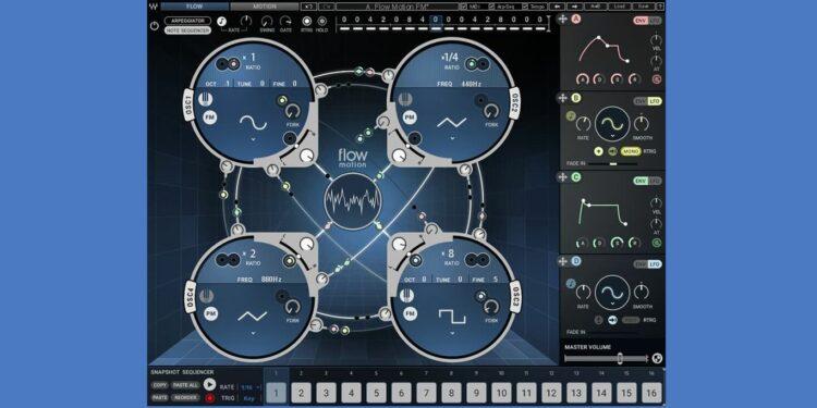 синтезатор Waves Flow Motion