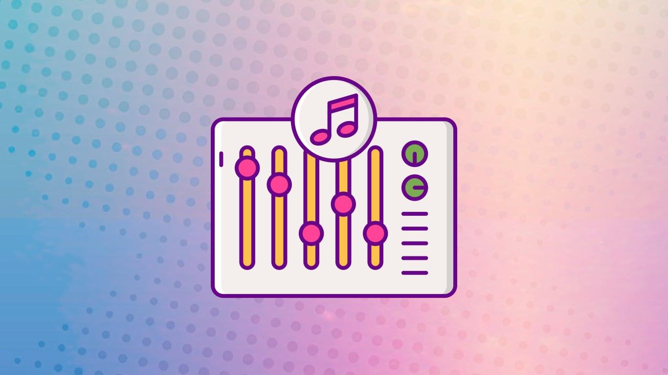 Аудиодорожки сбалансированы по громкости и панораме