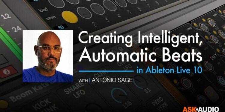 """Бесплатный мастер-класс Ableton Live 10 """"Intelligent, Automatic Beats"""" расскажет, как автоматически создавать биты в популярной DAW."""