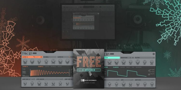 Native Instruments TRK-01 Play, скачать бесплатно TRK-01 Bass, скачать бесплатно TRK-01 Kick