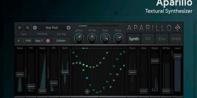 синтезатор для iPad Sugar Bytes Aparillo