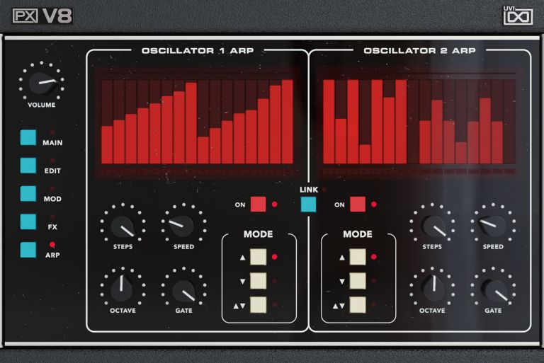 Редкий VST-синтезатор UVI PX V8