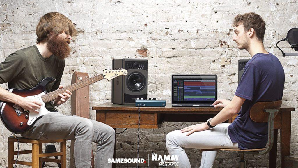 Аудиоинтерфейс для гитаристов Audient Sono