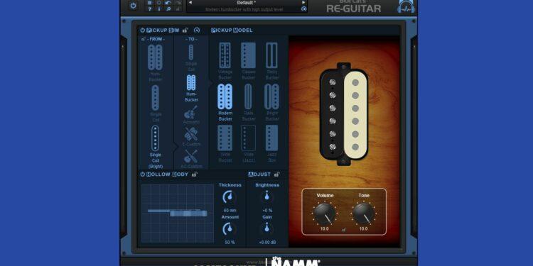 Эмулятор Blue Cat Audio Re-Guitar