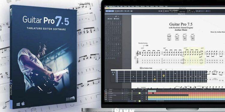 Вышла Guitar Pro 7.5, что нового guitar pro 7.5