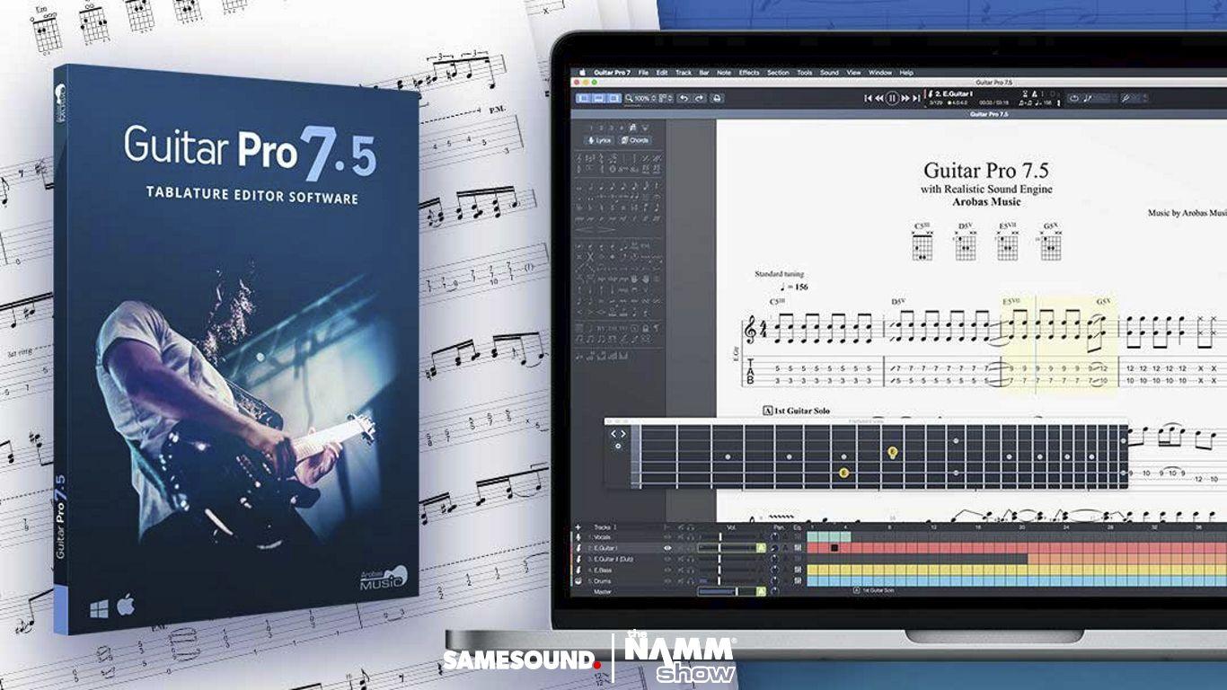 NAMM 2019: представлена Guitar Pro 7 5 с рядом функций