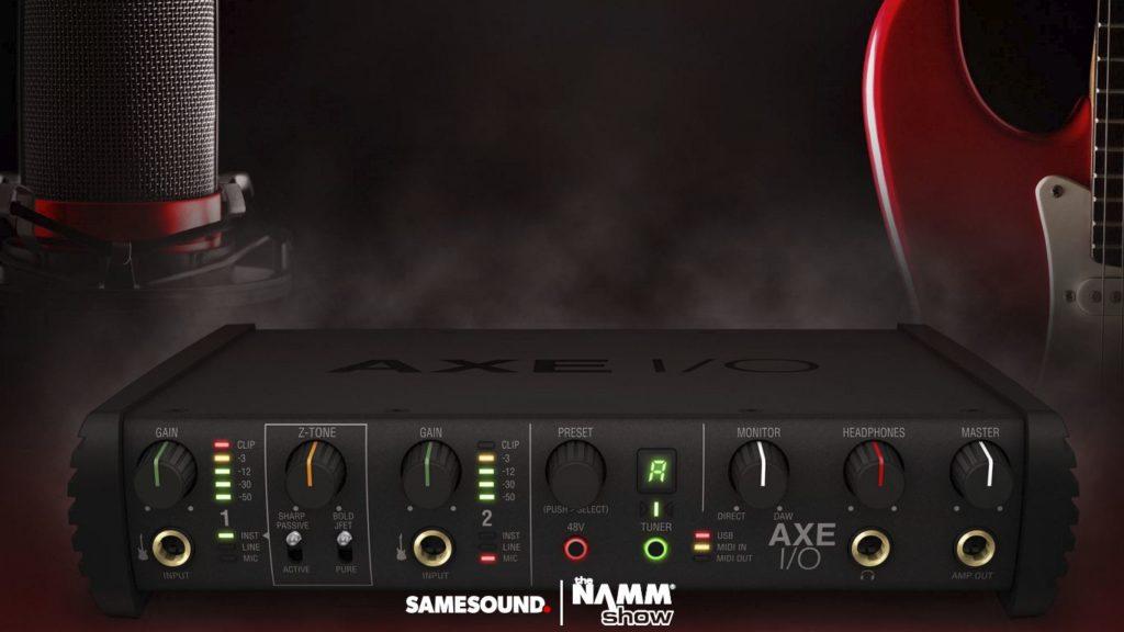Аудиоинтерфейс для гитаристов IK Multimedia AXE I/O