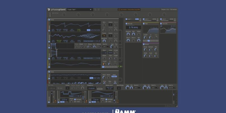 Модульный VST-синтезатор Kilohearts Phase Plant