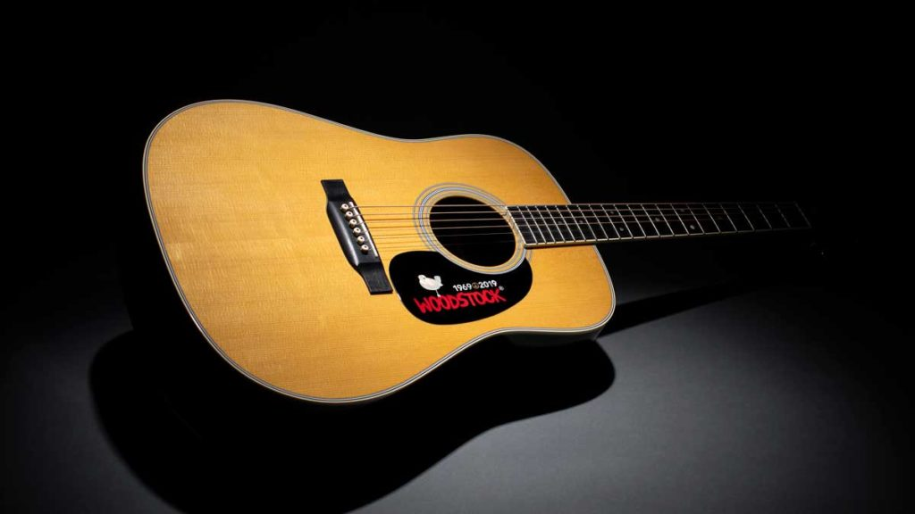 Martin D-35 Woodstock 50th