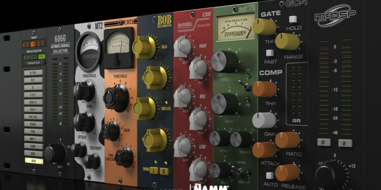 McDSP 6060 Module Collection