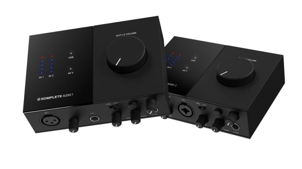 Аудиоинтерфейс Native Instruments Komplete Audio 1, Аудиоинтерфейс Native Instruments Komplete Audio 2