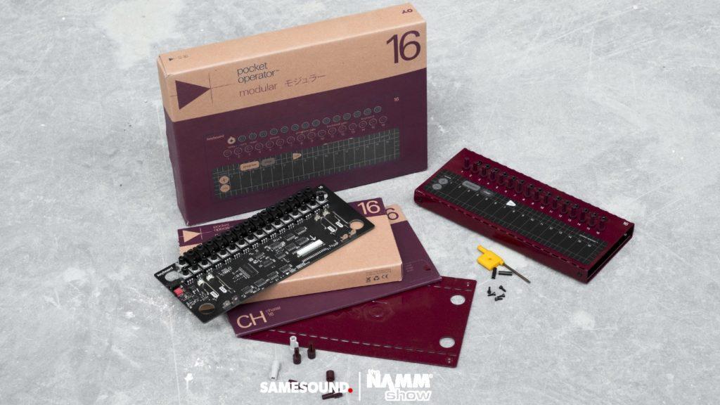 Teenage Engineering PO 16, Teenage Engineering Pocket Operator Modular, модульные синтезаторы Teenage Engineering, Pocket Operator Modular, Teenage Engineering PO Modular