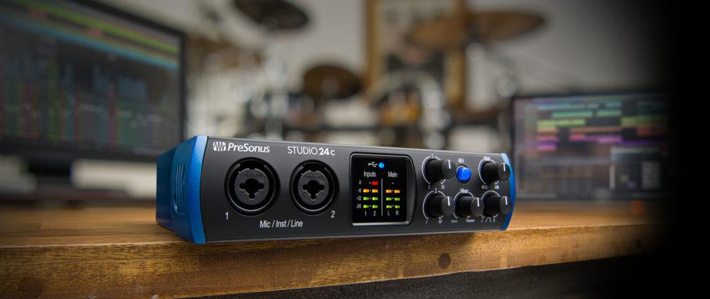 PreSonus Studio USB 24c