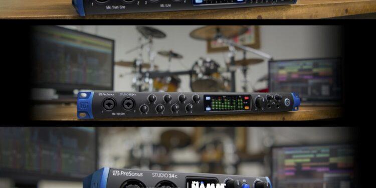 Аудиоинтерфейсы PreSonus Studio USB с USB-C