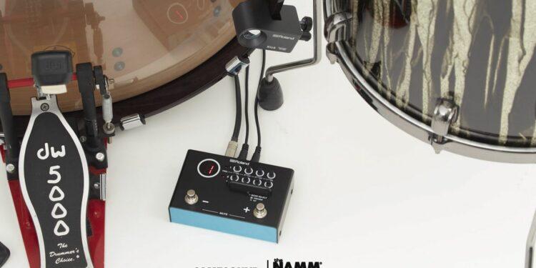 Roland TM-1, барабанный гибридный модуль Roland TM-1