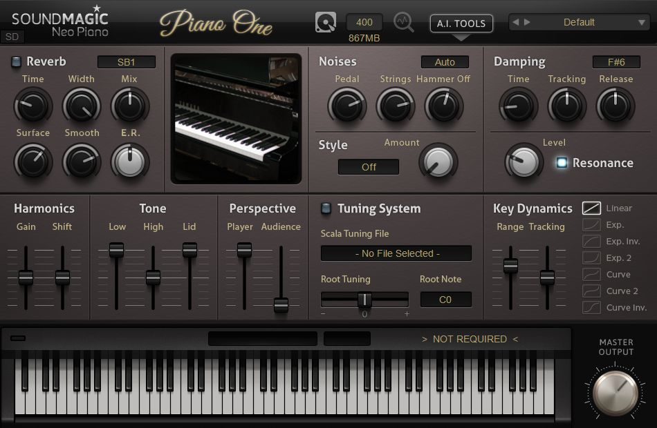 Бесплатное VST-пианино Soundmagic Piano One 5