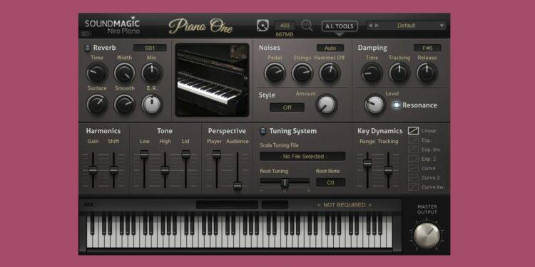 Бесплатное VST-пианино Soundmagic Piano One 5