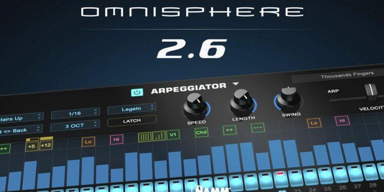Обновление Spectrasonics Omnisphere 2.6