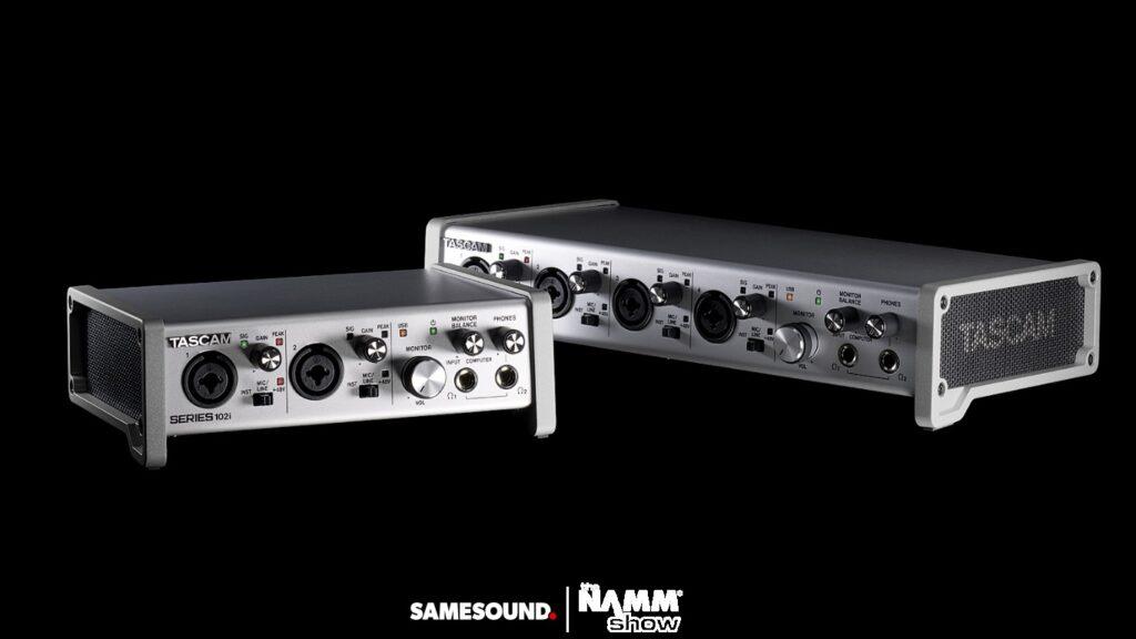аудиоинтерфейсы Tascam Series USB, Tascam Series 102i, Tascam Series 208i