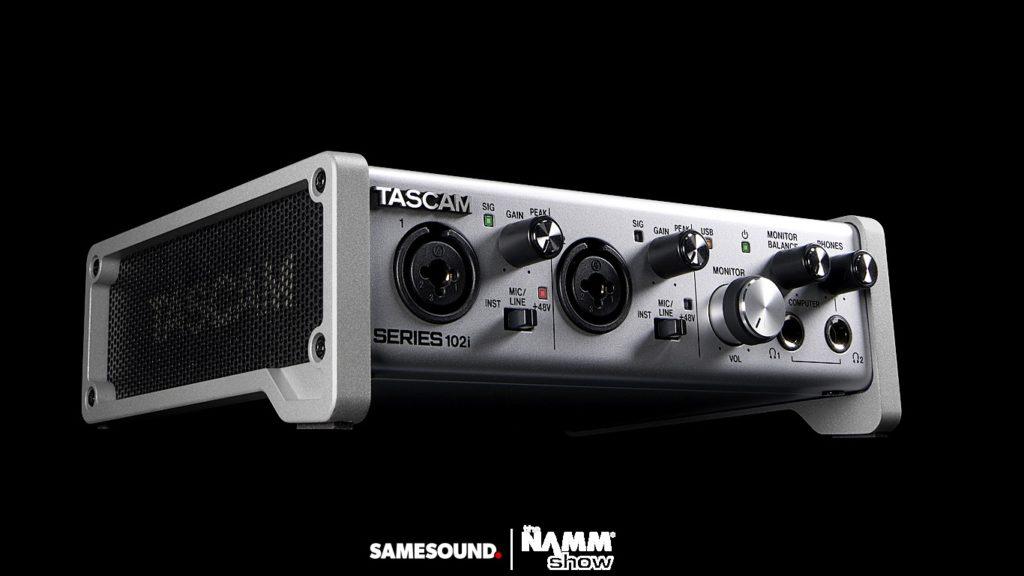 Аудиоинтерфейс Tascam Series 102i