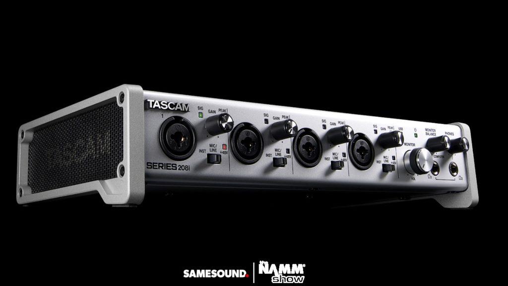 Аудиоинтерфейс Tascam Series 208i