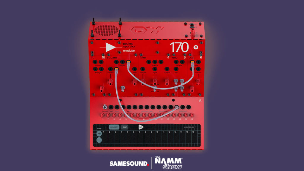 Teenage Engineering PO 170, Teenage Engineering Pocket Operator Modular, модульные синтезаторы Teenage Engineering, Pocket Operator Modular, Teenage Engineering PO Modular
