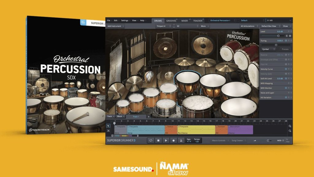 toontrack orchestral percussion
