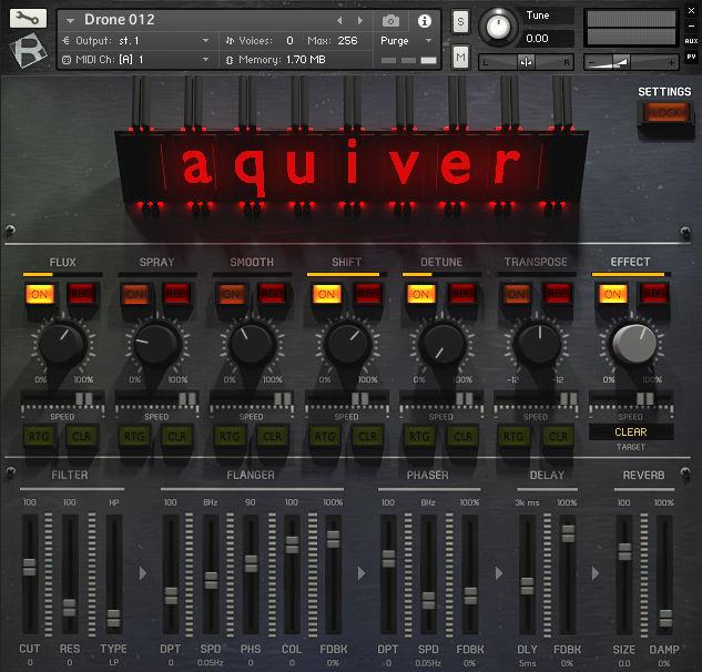 Библиотека Rigid Audio Aquiver