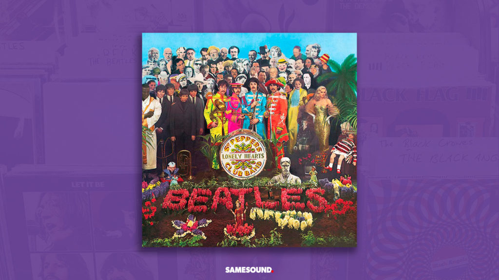 the beatles sgt pepper album cover