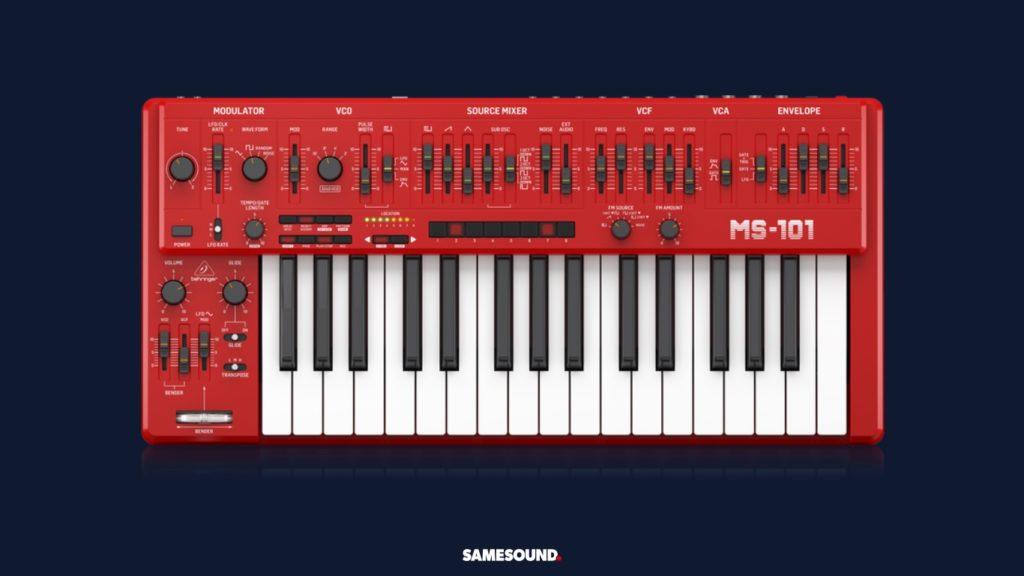 синтезаторы Behringer MS-101