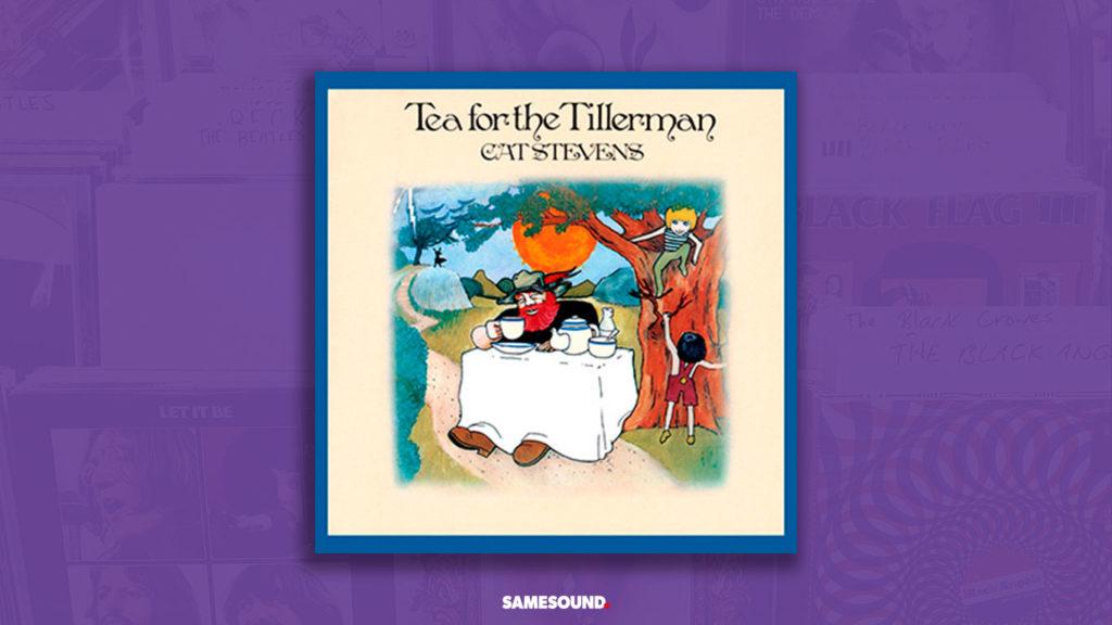 cat stevens tea for the tillerman album cover
