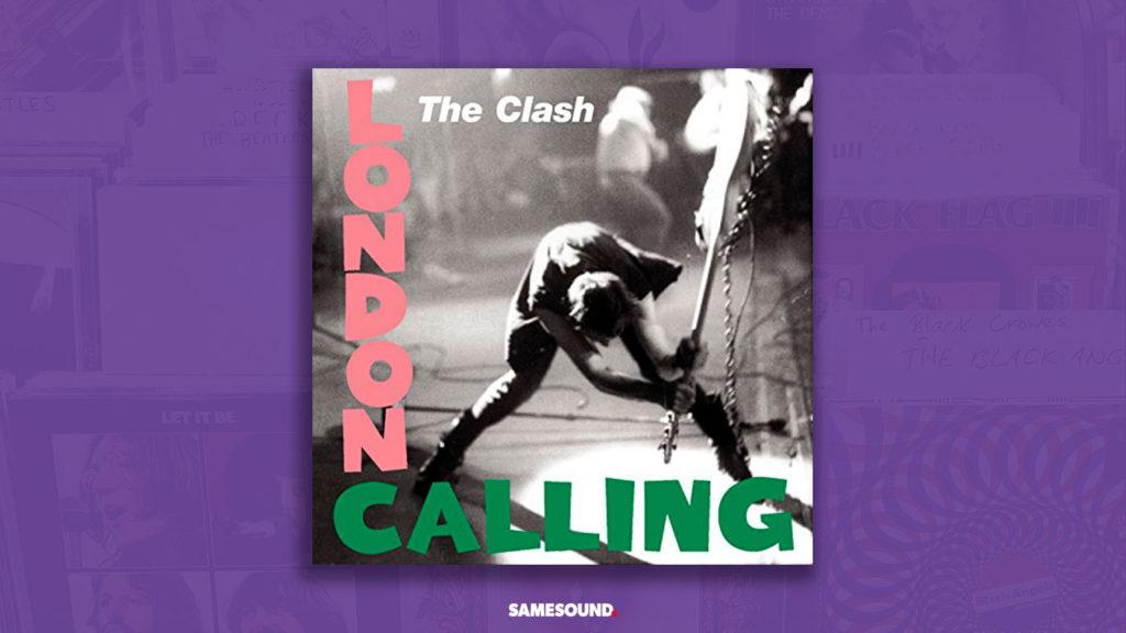 The Clash London Calling, как сделать обложку альбома