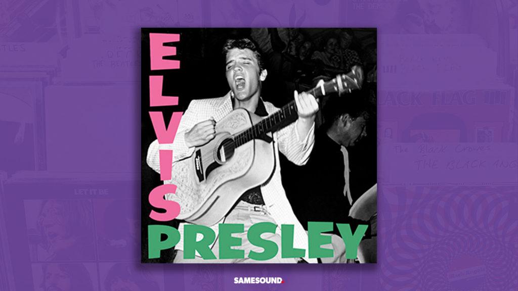 elvis presley album cover