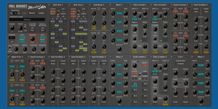 Бесплатный VST-синтезатор ModulAir