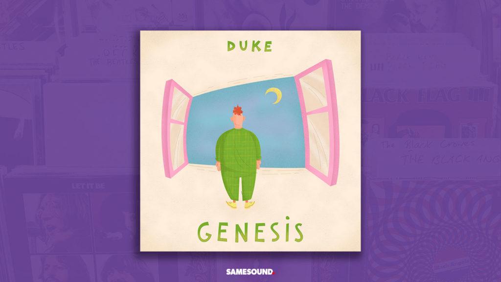 genesis duke album cover