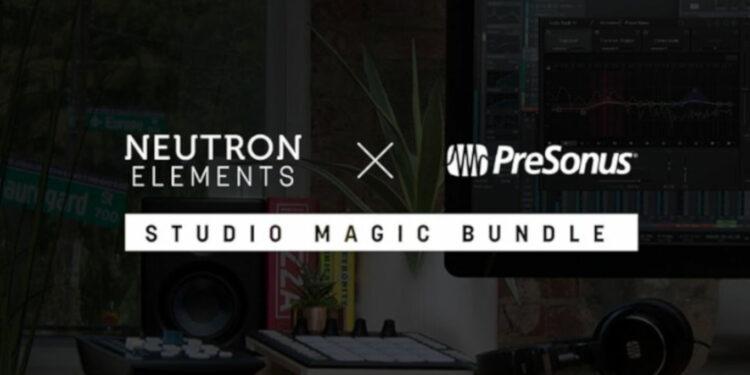 izotope neutron elements при покупке аудиокарт presonus, presonus studio magic