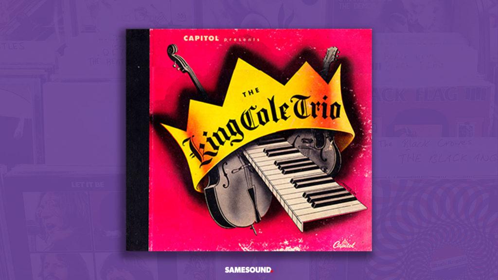 Nat King Cole The King Cole Trio, как сделать обложку альбома