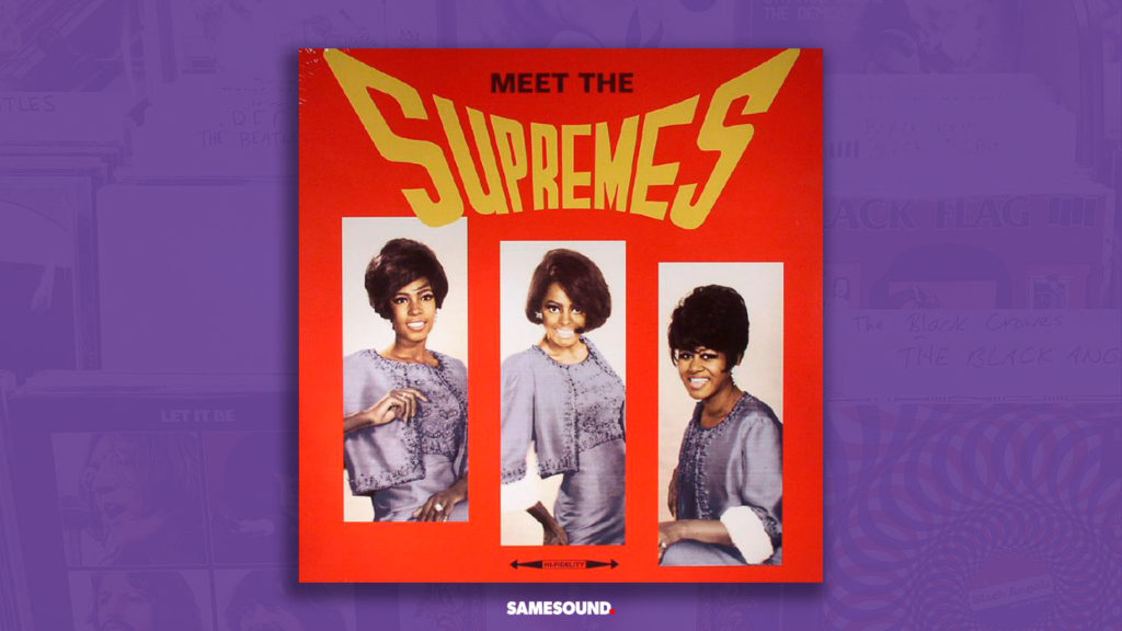 meet the supremes album cover