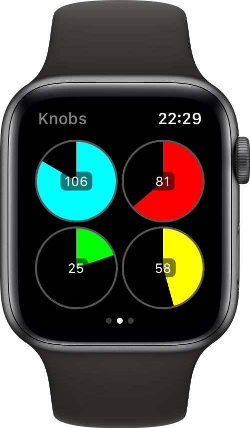 как управлять midi с apple watch