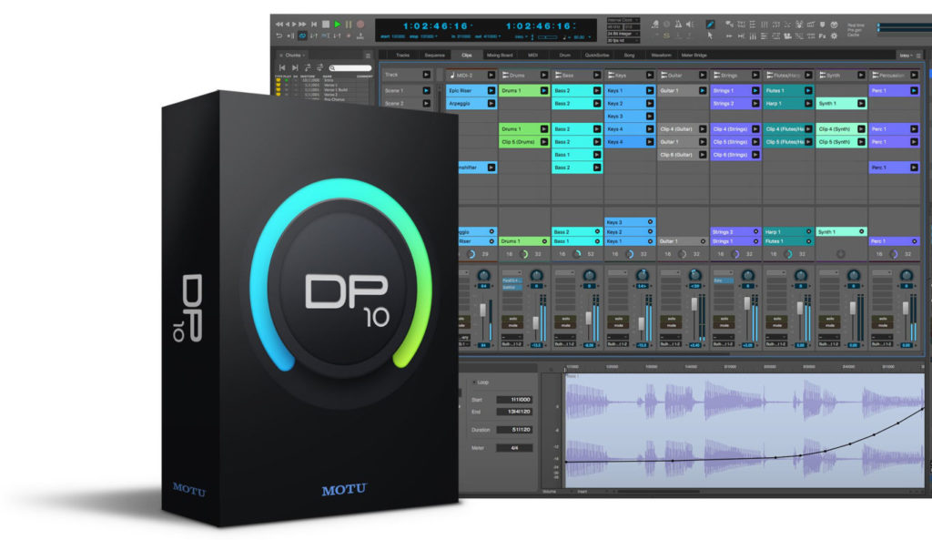 Анонс MOTU Digital Performer 10