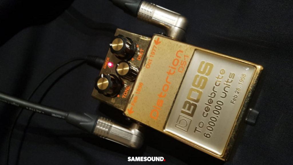 золотой BOSS DS-1 Distortion