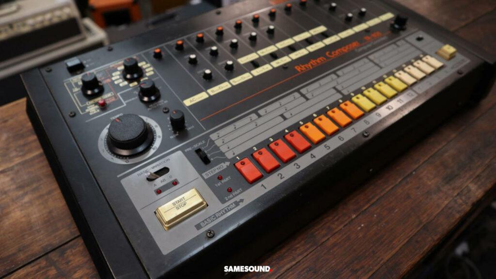 Roland запатентовала дизайн драм-машины TR-808