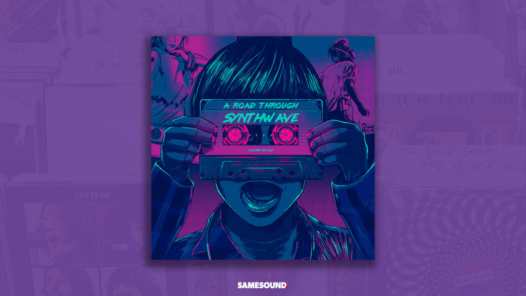 a road through synthwave album