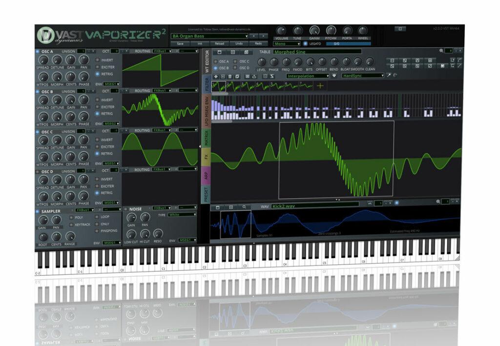 VST-синтезатор Vaporizer2